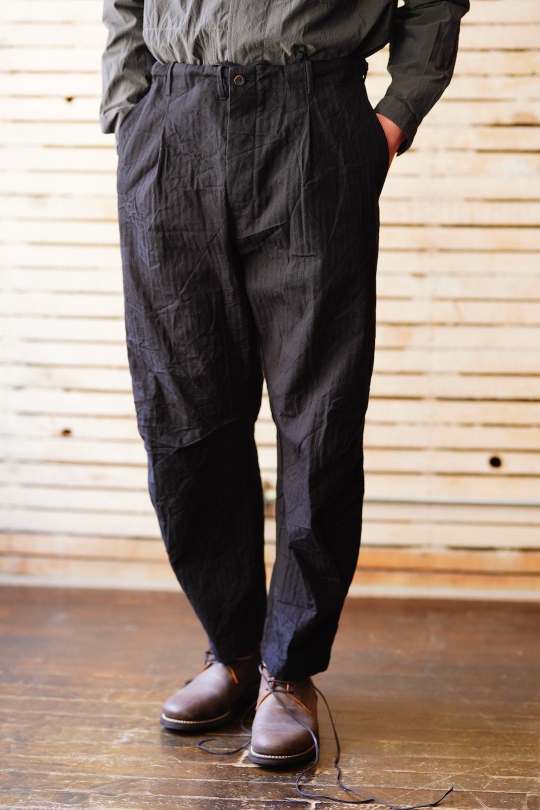 BAGGY CASUAL PANTS
